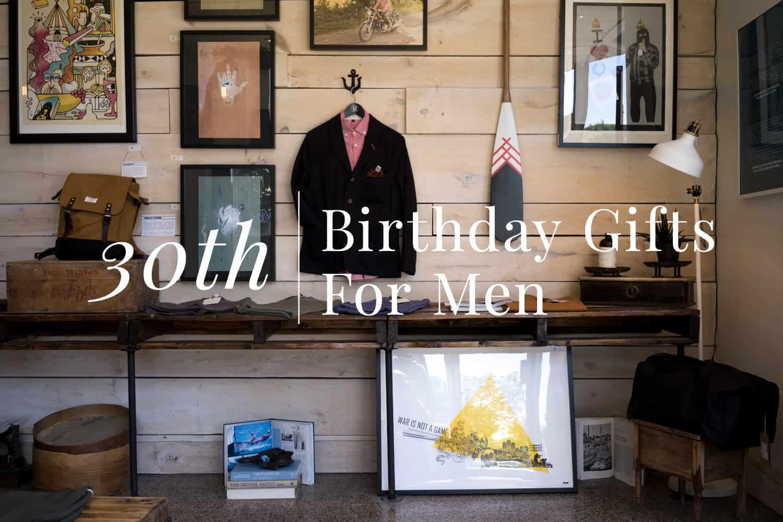 30代の彼氏や旦那様へのプレゼント9選。モダンなアイテムで男心を鷲掴み!