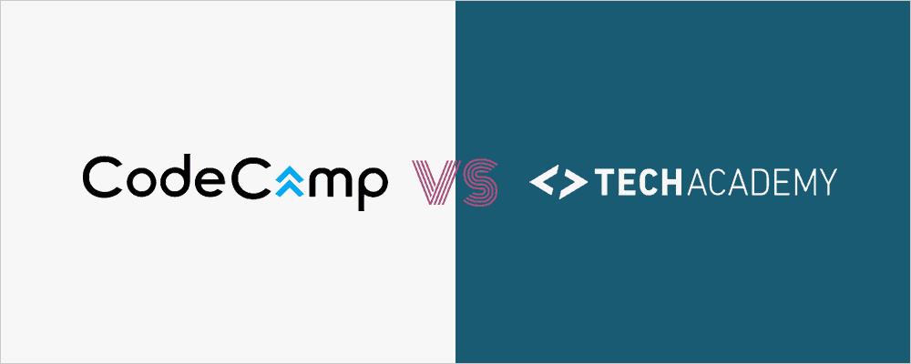 CodeCampとTechAcademyの比較