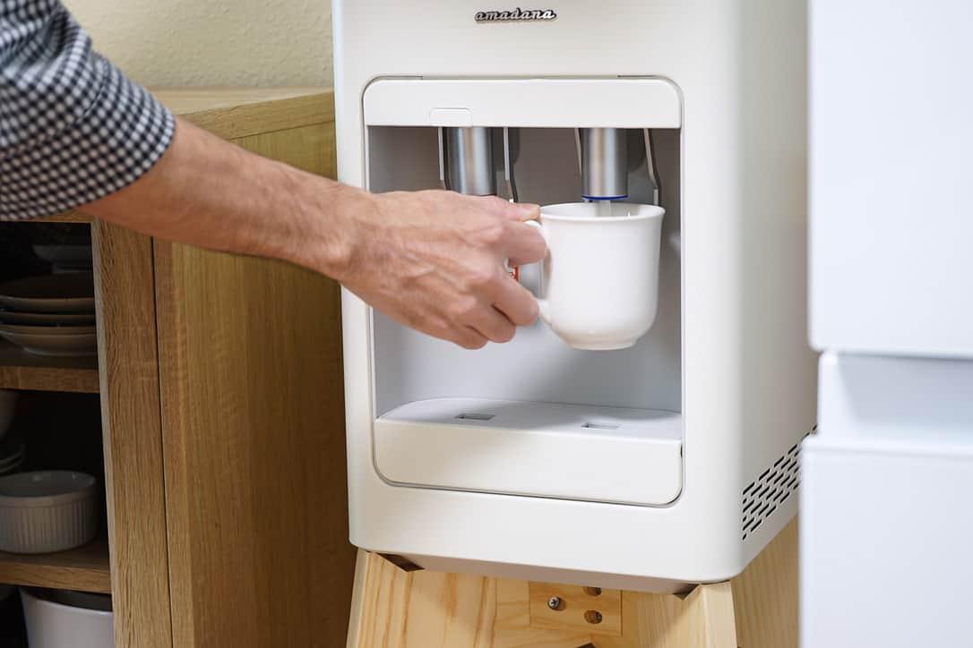 冷水やお湯がスマートにサクッと利用できる