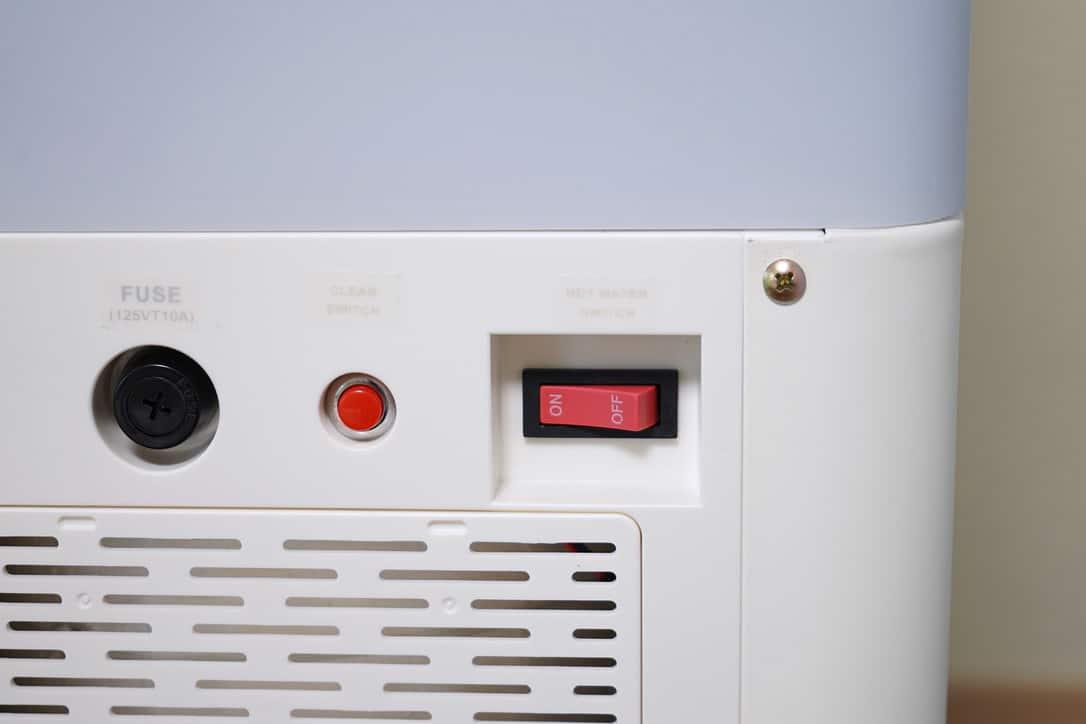 加熱クリーンシステム付きで衛生的